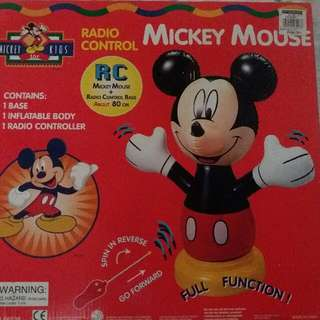 REPRICE!!! SALE!!! INFLATABLE MICKEY MOUSE RC CAR