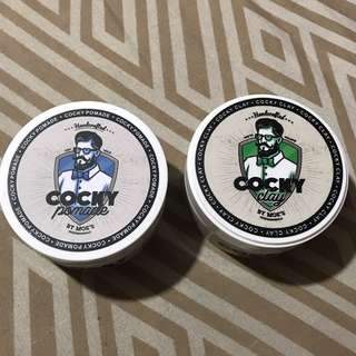Cocky Pomade (2 for 700)