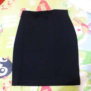 Atmosphere Black Mini Skirt