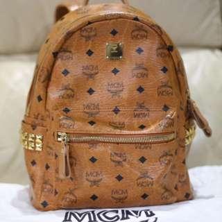 (Preloved) MCM Medium-Size Bagpack