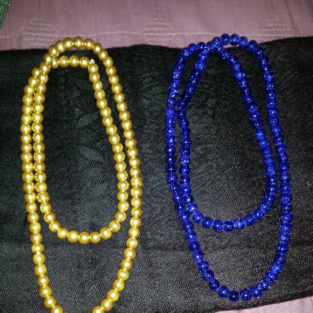 2 Fashion Pearl Neclace