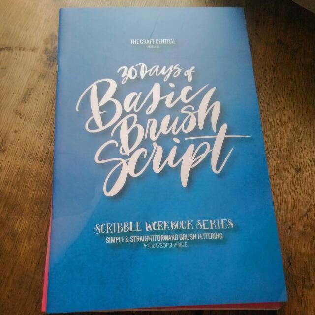 30 Days Of Basic Brush Script