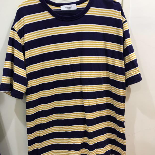 韓國代購條紋上衣