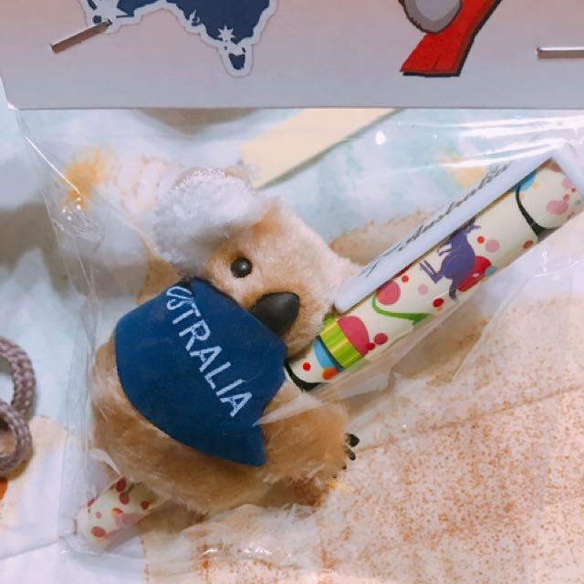 澳洲帶回 無尾熊🐨綁筆