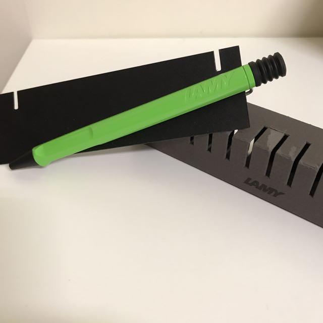 全新 | 德國 LAMY safari 狩獵者 2012 限量色 蘋果綠 原子筆
