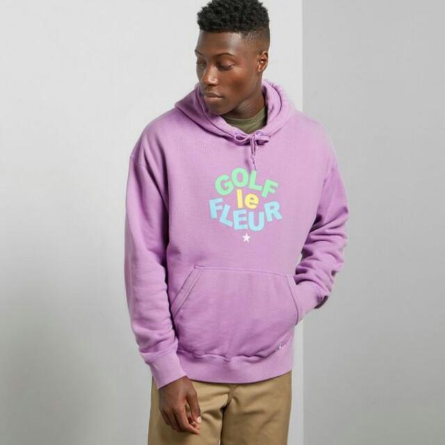 收 Golf Le Fleur Hoodie purple