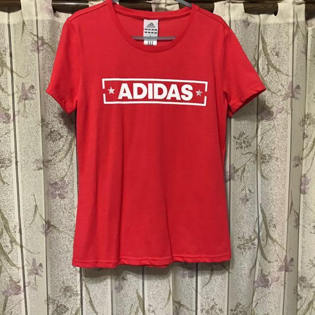 Adidas 女短T(L號)