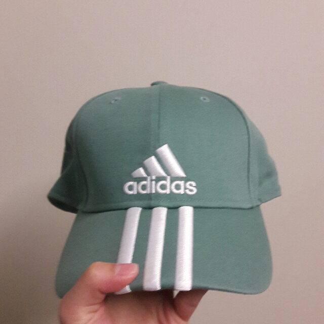Adidas Turquoise Cap With Three Stripes