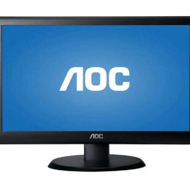 """AOC e950sw 19"""" LED LCD Monitor - 16:9 - 5 ms"""