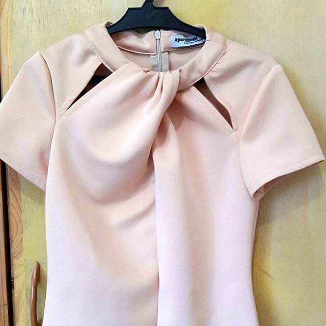 Apartment 8 Light Pink Blouse (Slightly Used)