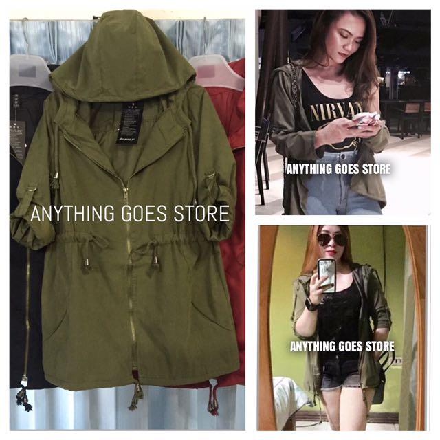 Army Green Jacket/Parka
