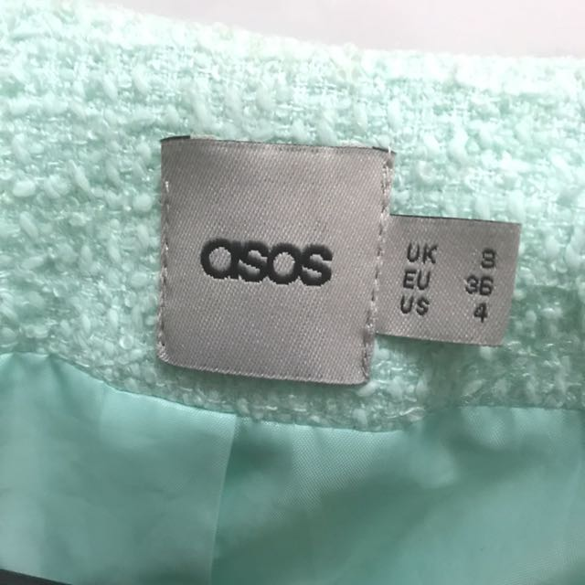 ASOS mint green blazer
