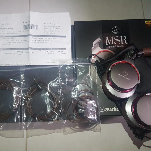 Audio Technica ATH MSR-7 Heaphone