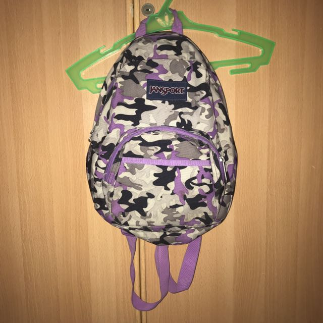 Authentic Jansport Camouflage Backpack