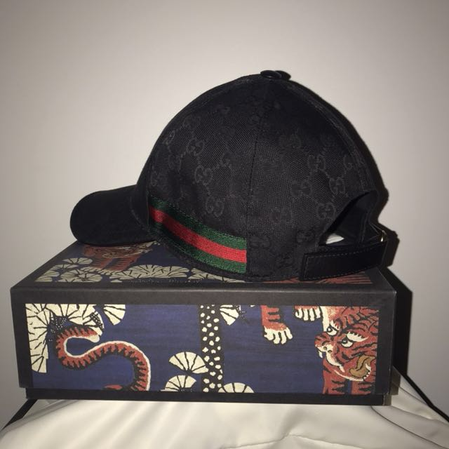 AUTHENTIC BLACK GUCCI HAT