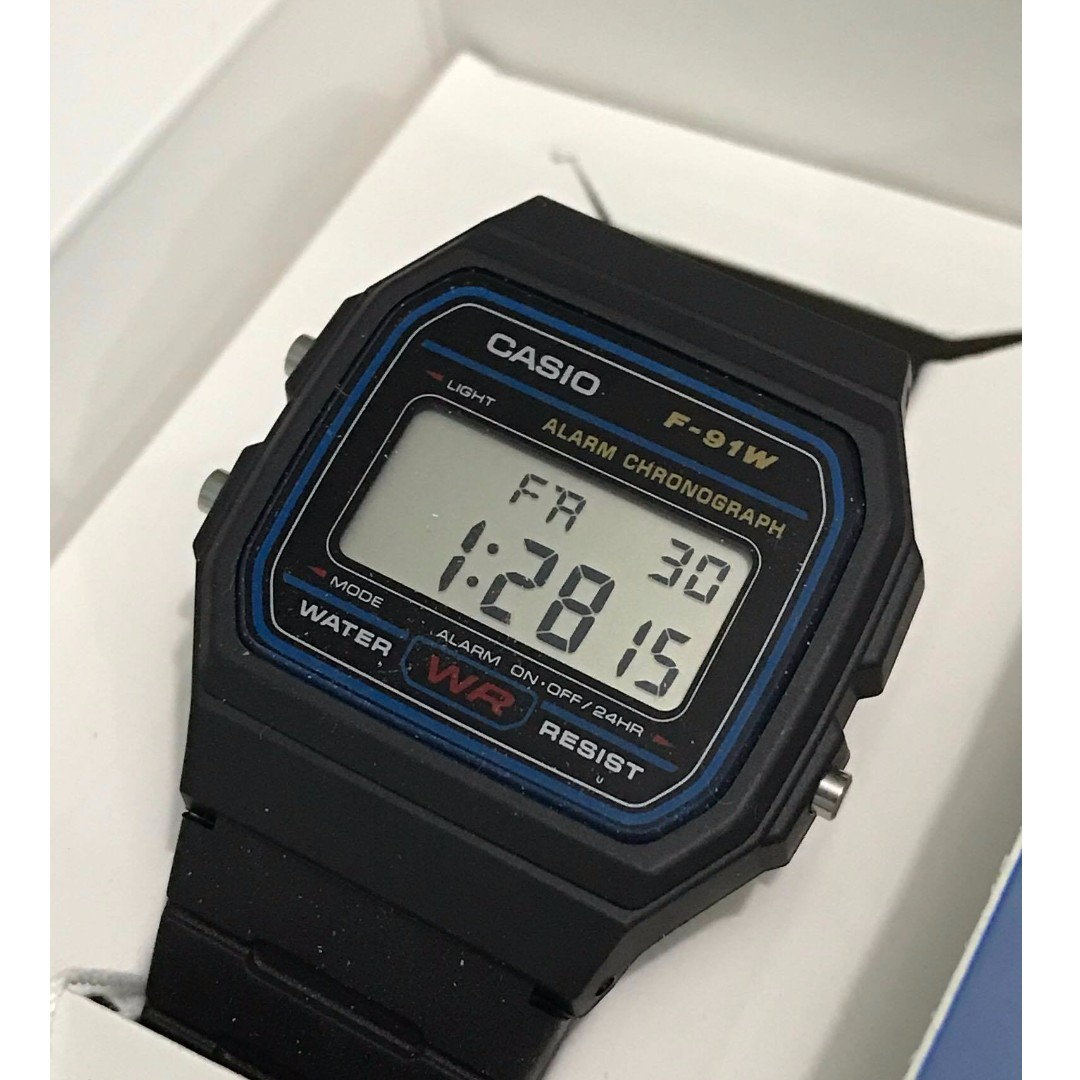 Authentic Casio Watch Classic Black 593 Mens Fashion Watches