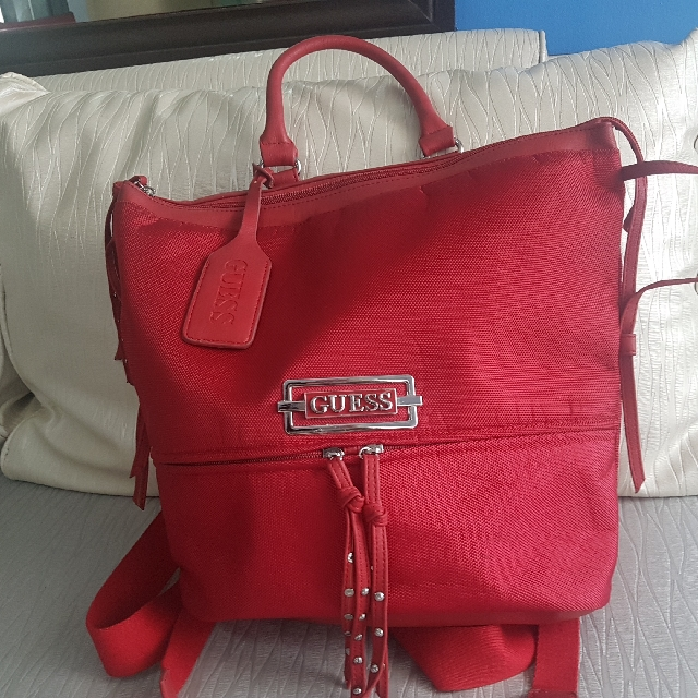 Authentic Guest Red Backpack