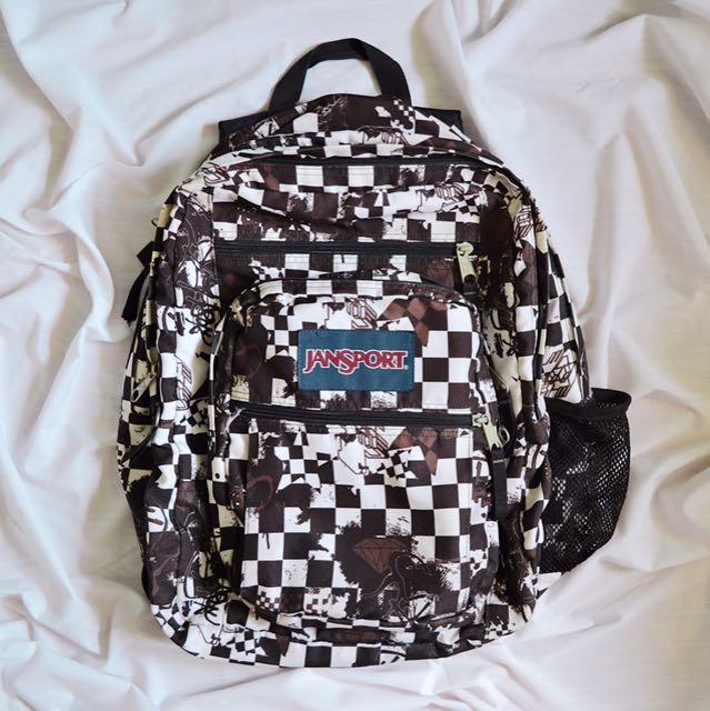 AUTHENTIC Jansport Big Student Backpack