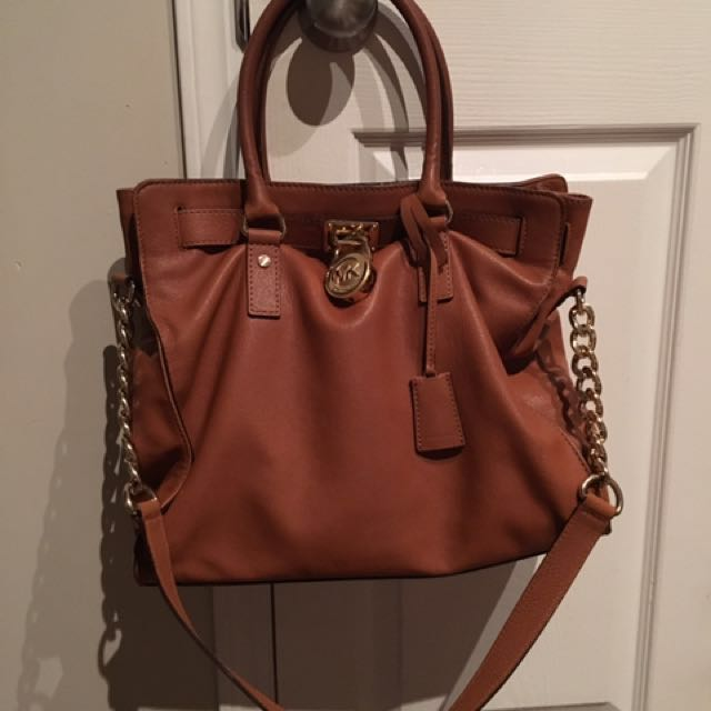 Authentic Large Michael kors hamilton bag