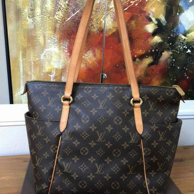 Authentic Lv Totally MM in Brown Monogram