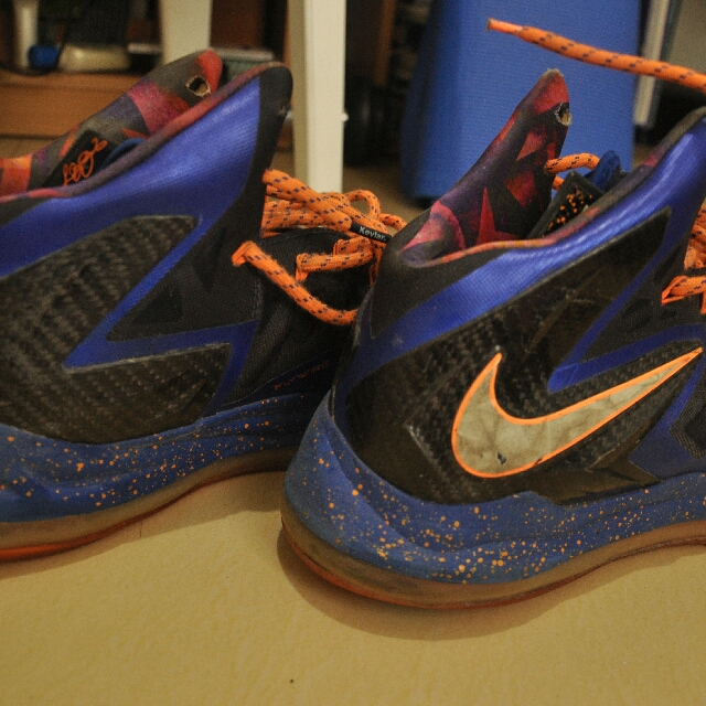 61de8f80669 Size 12 Retired Nike Lebron 10 Elites Galaxy