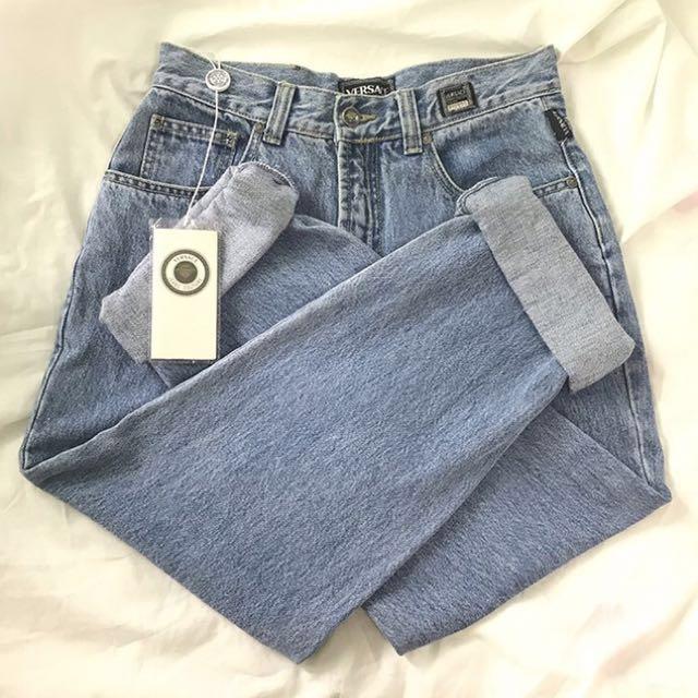 99c2995d23073 Authentic Versace mom jeans