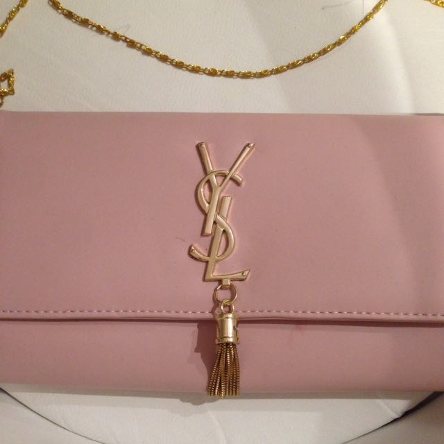 Baby pink ysl bag
