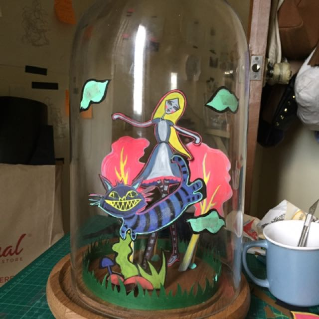 Bell Jar ( Glass Dome )