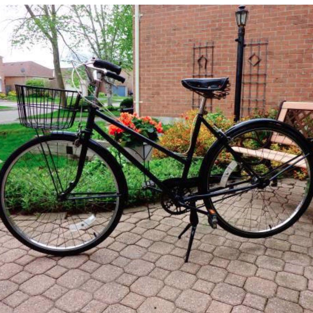 Black Cruiser Bicycle (Vintage)