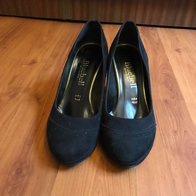 Bluebell Black Shoes