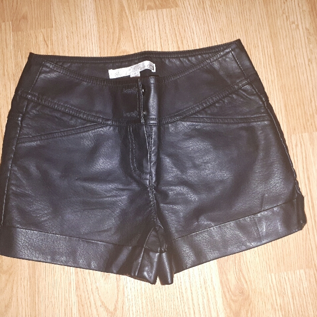 Brand New Dynamite Leather Shorts