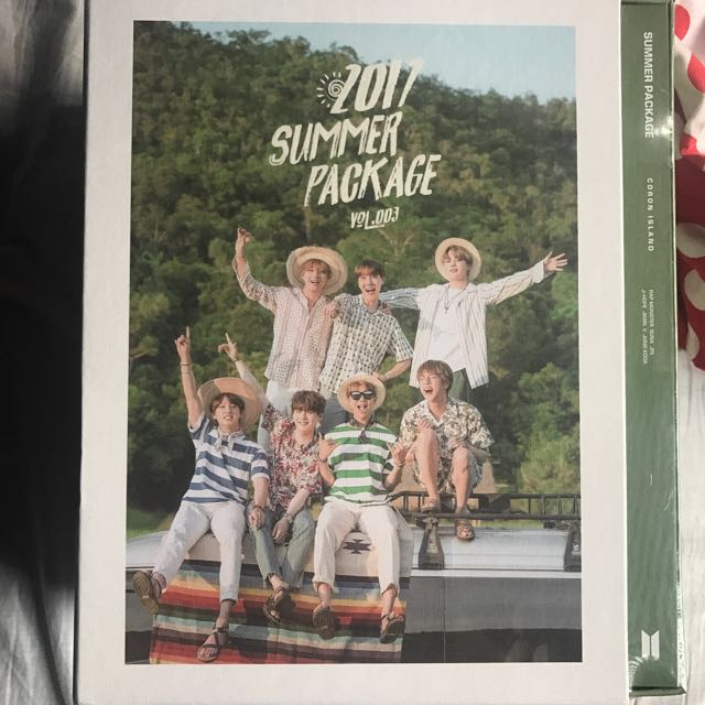 [ONHAND AVAILABLE] BTS Summer Package 2017