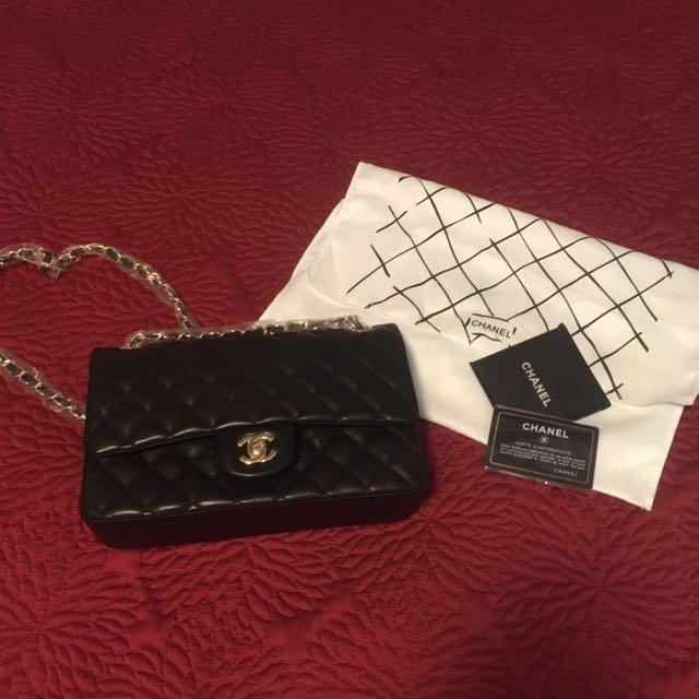 Chanel Inspired Quilted Cross body