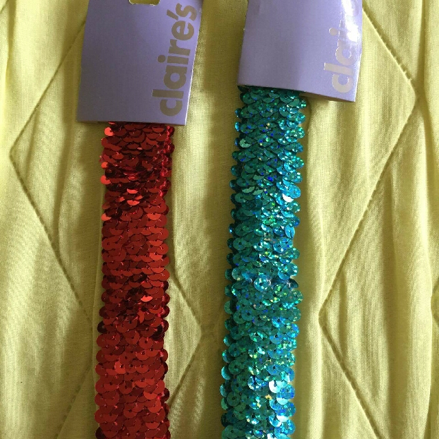 Claire's Headband W/sequence