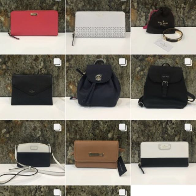 COMING SOON! Authentic Kate Spade - Tommy Hilfiger - Michael Kors - Calvin Klein