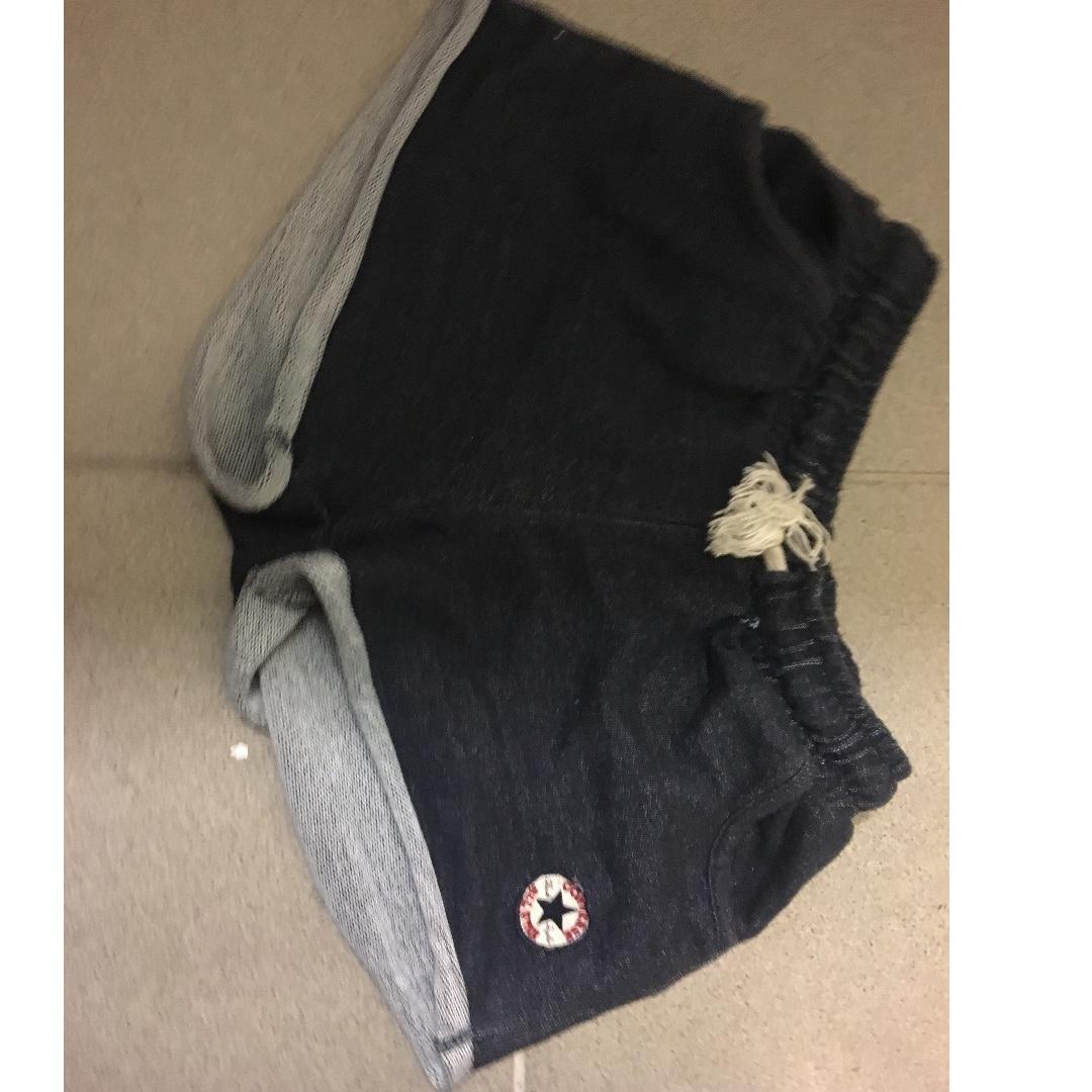 converse track pants shorts