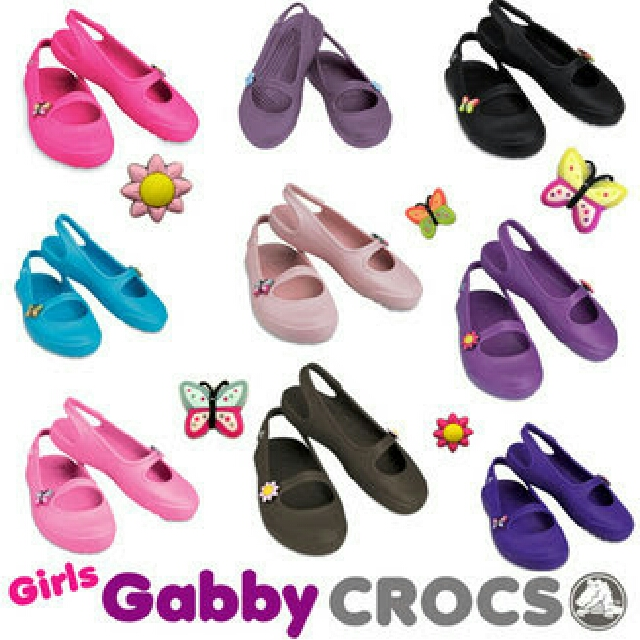 6be07c532 REPRICED! Crocs gabby girls Dahlia