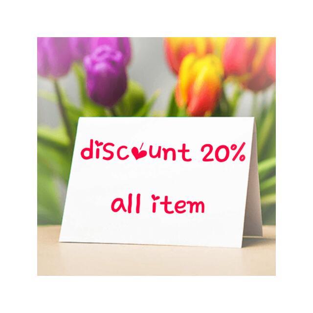 Cuci Gudang.. diskon 20% semua item