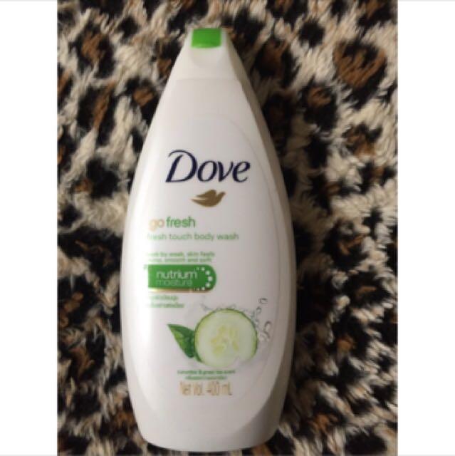 Dove body wash 400ml gofresh cucumber