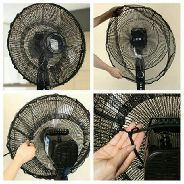 Fan Safety Full Front And Back Protection Cover With
