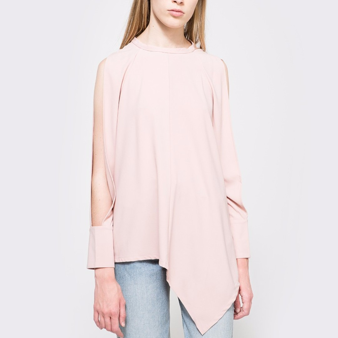 FARROW Abbey Top in Mauve Pink