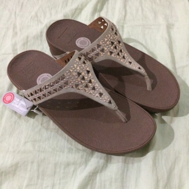 Fitflop Carmel Rose Gold Size 8