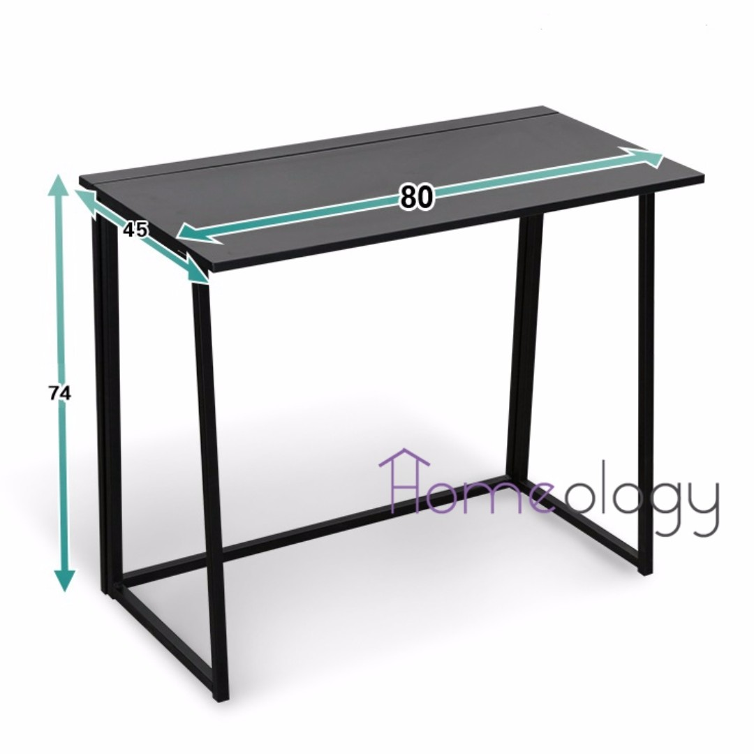 Foldable Computer Table Portable Office Student Study Desk Home