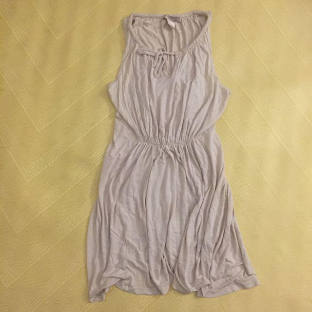 Forever 21 米色氣質小洋裝二手M尺寸