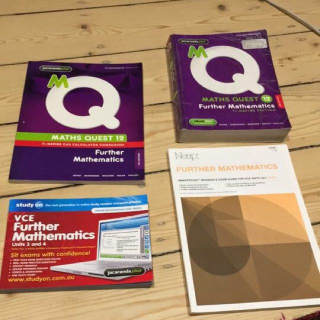 Further mathematics textbook and extra resources