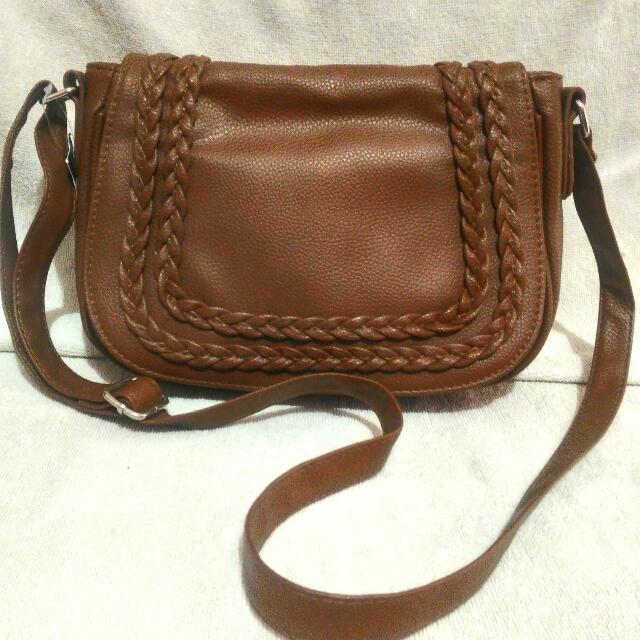 GENUINE LEATHER Sling Bag