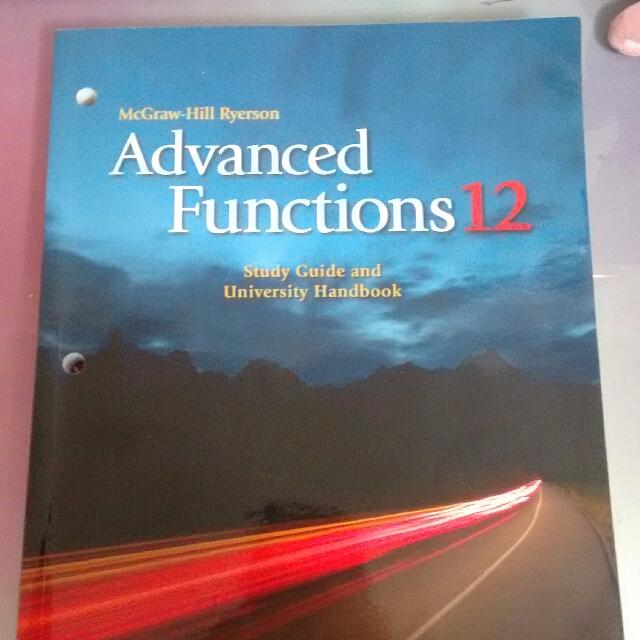 Grade 12 Advanced Functions Workbook