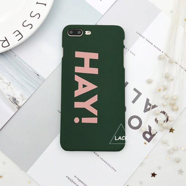 Hay! iPhone Cover 6s 6plus 7