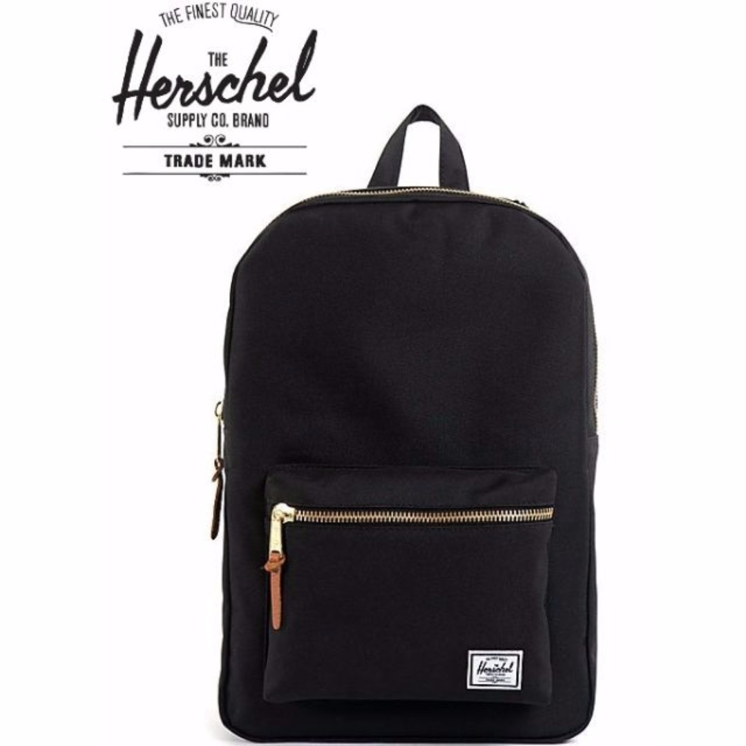 ab6141bb3 50 SALE]✓Herschel Settlement Backpack (Black), Women's Fashion ...