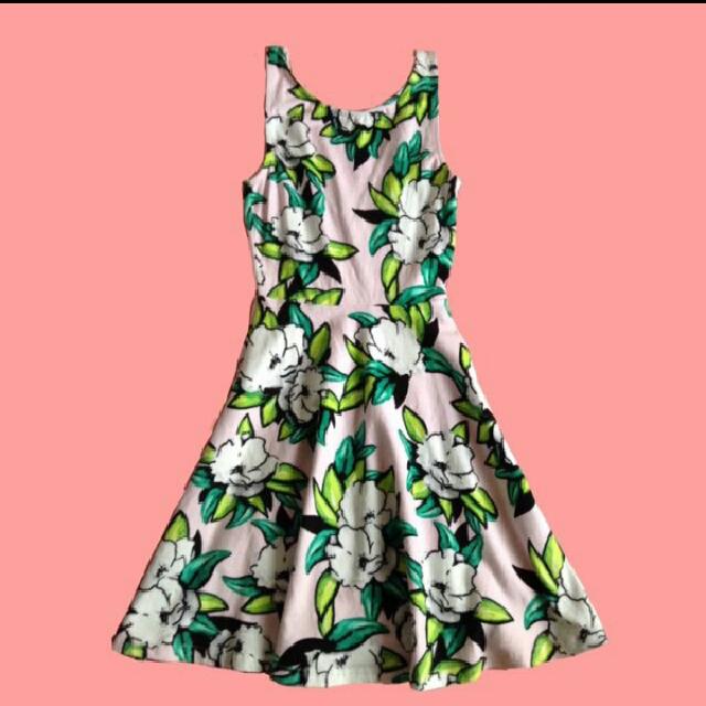 H&M Divided Pastel Pink Dress